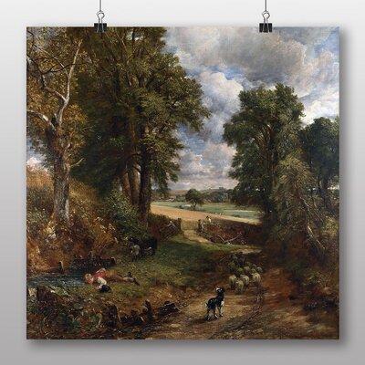 Big Box Art 'The Cornfield' by John Constable Art Print