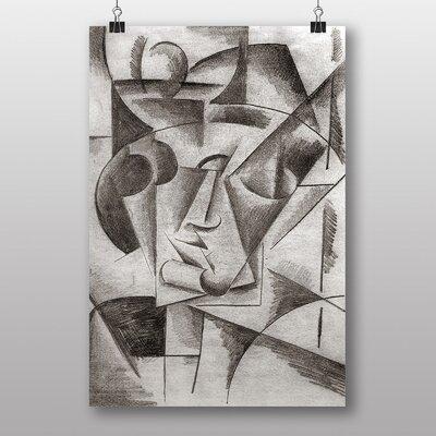 "Big Box Art ""Heads"" by Lyubov Popova Art Print"