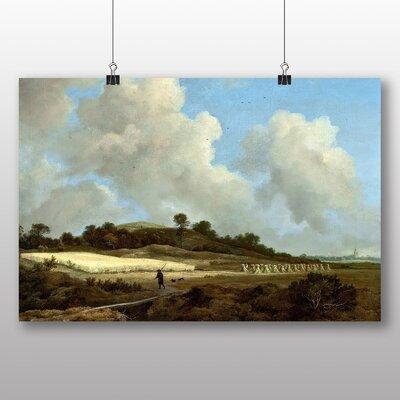 Big Box Art 'View of Grainfields' by Jacob Ruisdael Art Print