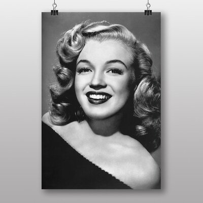 Big Box Art Marilyn Monroe No.4 Photographic Print Wrapped on Canvas