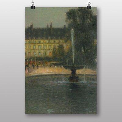 "Big Box Art ""Tuileries Paris"" by Henri Le Sidaner Art Print"