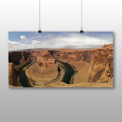 Big Box Art Horseshoe Bend Canyon Arizona USA Photographic Print Wrapped on Canvas