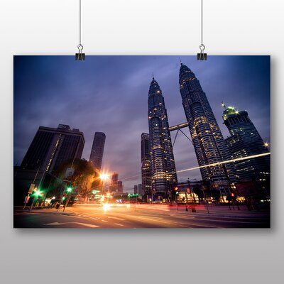 Big Box Art Kuala Lumpur Malaysia No.2 Photographic Print Wrapped on Canvas