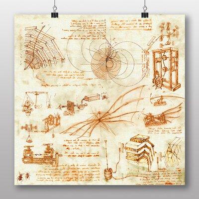 Big Box Art Leonardo Da Vinci Oreach' by Leonardo Da Vinci Art Print