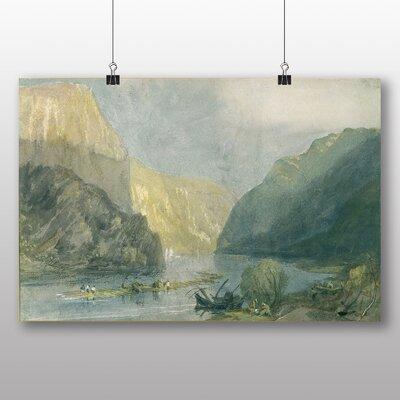 Big Box Art 'Landscape No.1' by Joseph Mallord William Turner Art Print