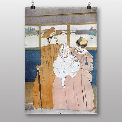 "Big Box Art ""On the River"" by Mary Cassatt Art Print"