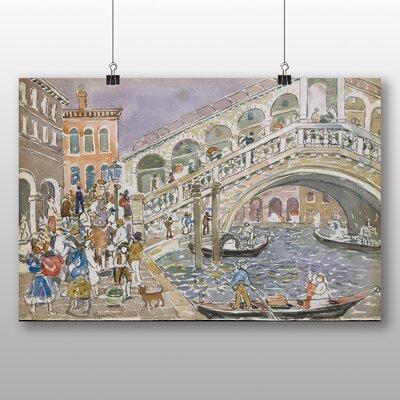 Big Box Art Rialto Bridge' by Maurice Prendergast Art Print
