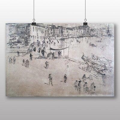 Big Box Art 'Sketch' by James McNeill Whistler Art Print