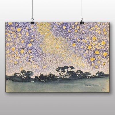 Big Box Art 'The Night Sky' by Henri Edmond Cross Art Print
