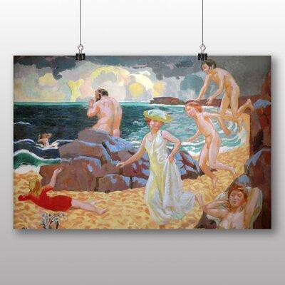 "Big Box Art ""Polyphemus"" by Maurice Denis Art Print Wrapped on Canvas"