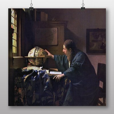 Big Box Art 'The Astronomer' by Johannes Vermeer Art Print