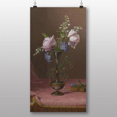 Big Box Art 'Flowers No.2' by Martin Johnson Heade Art Print