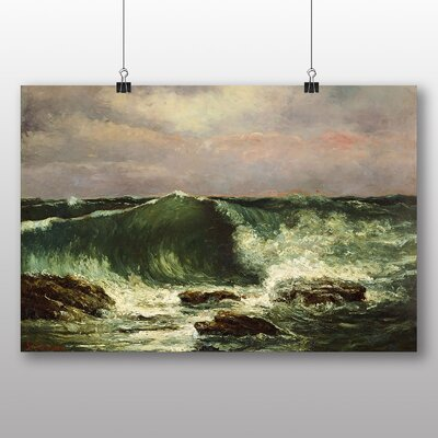 Big Box Art 'Waves' by Gustave Courbet Art Print