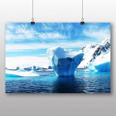 Big Box Art Icebergs Photographic Print