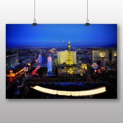Big Box Art Las Vegas Strip Skyline Nevada USA No.1 Photographic Print