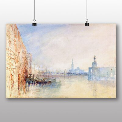 Big Box Art 'Venice the Mouth of the Grand Canal' by Joseph Mallord William Turner Art Print