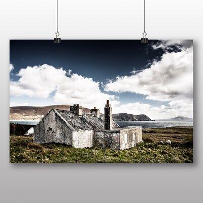 Big Box Art Ireland Landscape Photographic Print on Canvas