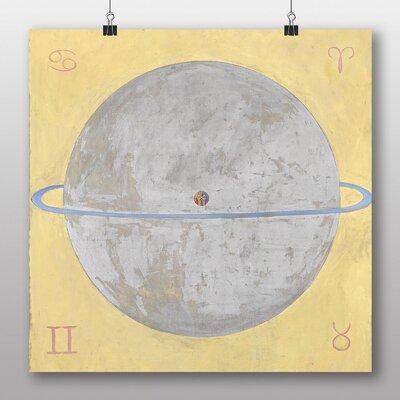 "Big Box Art ""Artwork No.2"" by Hilma af Klint Art Print on Canvas"