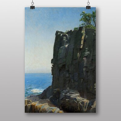 "Big Box Art ""Sanctuary Cliffs"" by Michael Ancher Photographic Print"