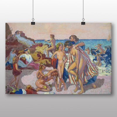Big Box Art 'Bacchus and Ariadne' by Maurice Denis Art Print