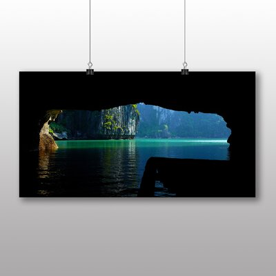 Big Box Art Halong Bay Vietnam No.4 Photographic Print Wrapped on Canvas