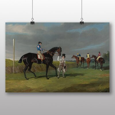 Big Box Art 'The Doncaster Gold Cup' by John Frederick Herring Art Print