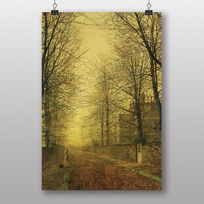 "Big Box Art ""Autumns Golden Glow"" by John Atkinson Grimshaw Art Print"