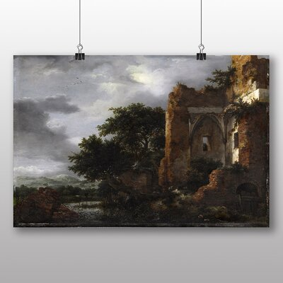 Big Box Art 'Landscape No.3' by Jacob Ruisdael Art Print