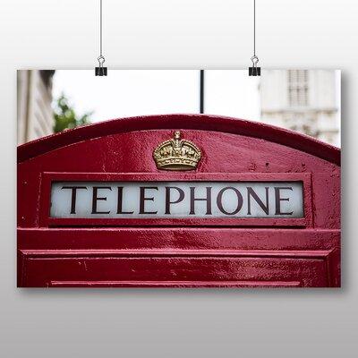 Big Box Art London Telephone Box No.1 Photographic Print