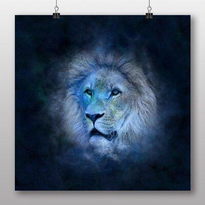 Big Box Art Leo Lion Astrology Zodiac Graphic Art