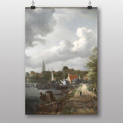 "Big Box Art ""Amsterdam Landscape"" by Jacob Ruisdael Art Print"