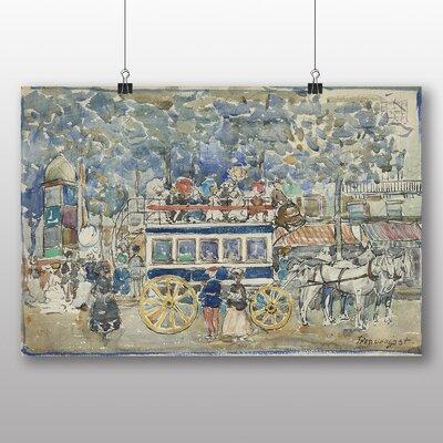 Big Box Art 'The Paris Omnibus' by Maurice Prendergast Art Print