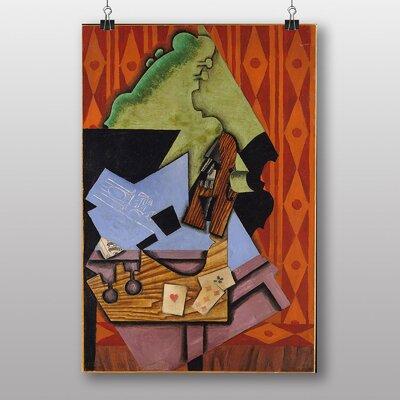 """Big Box Art """"Violin No.3"""" by Juan Gris Art Print"""