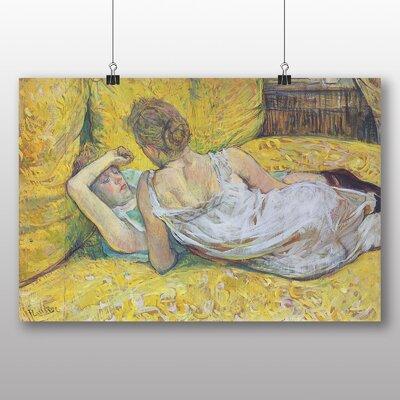 Big Box Art 'Abandonment' by Henri de Toulouse Lautrec Art Print