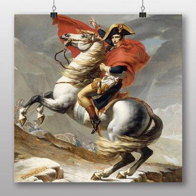 Big Box Art 'Bonaparte' by Jacques Louis David Graphic Art