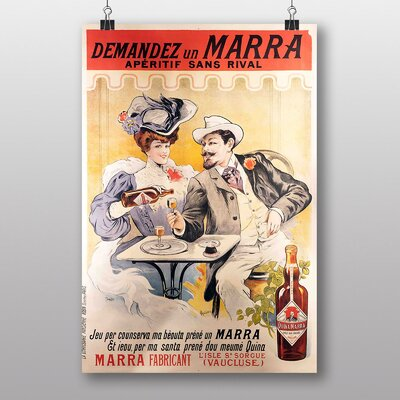 Big Box Art 'Artwork No.14' by Jules Cheret Vintage Advertisement