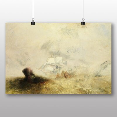 Big Box Art 'The Whale Ship' by Joseph Mallord William Turner Art Print