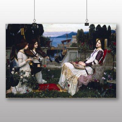 Big Box Art 'Saint Cecilia' by John William Waterhouse Art Print