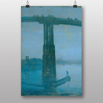 "Big Box Art ""Battersea Bridge Nocturne"" by James McNeill Whistler Art Print"