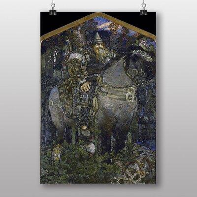 Big Box Art Bogatyre by Mikhail Vrubel Art Print