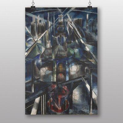 """Big Box Art """"Brooklyn Bridge"""" by Joseph Stella Art Print"""