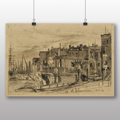 Big Box Art 'Thames Police' by James McNeill Whistler Art Print