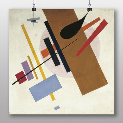 Big Box Art 'Abstract No.3' by Kazimir Malevich Art Print