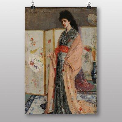 Big Box Art Lady in a Kimono by James McNeill Whistler Art Print