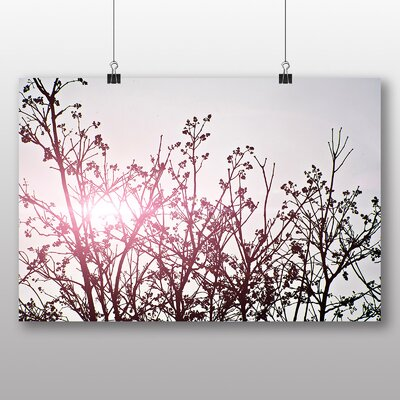 Big Box Art 'Lilac Sky' Photographic Print