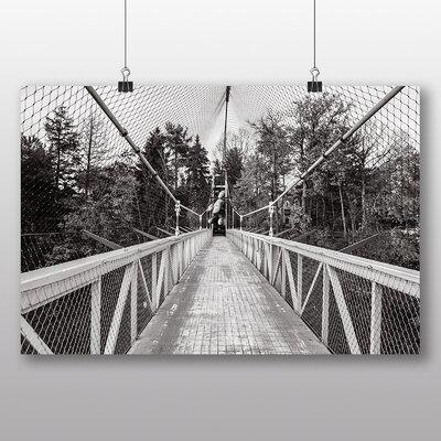 Big Box Art 'Monster hand Suspension Bridge' Photographic Print