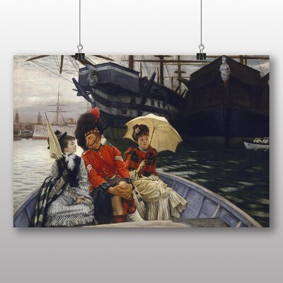 Big Box Art 'Portsmouth Dockyard' by James Tissot Art Print