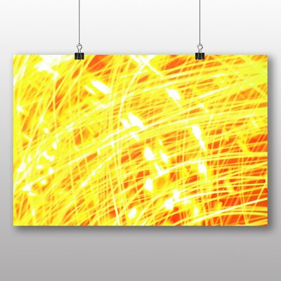 Big Box Art Kinetic Abstract Electricity No.1 Graphic Art
