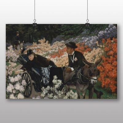 Big Box Art 'The Morning Ride' by James Tissot Art Print