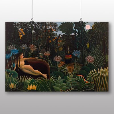 Big Box Art 'Le Reve' by Henri Rousseau Art Print